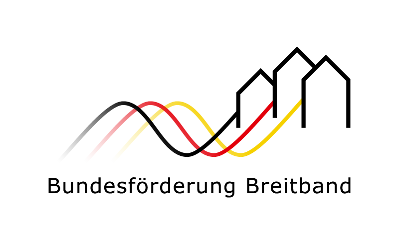 Logo Bundesförderprogramm Breitband