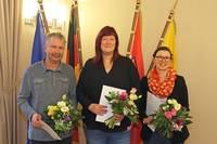 Heiko Sander, Maria Kleppel und Peggy Nöckel (v. l. n. r.)