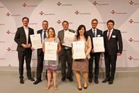 Zertifikatsverleihung an Unternehmen aus Sachsen und Sachsen-Anhalt
