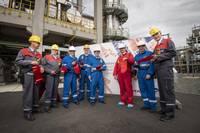Einweihung des Gemeinschaftsprojektes zur Herstellung Extraktion von Benzol, Foto: Felix Abraham