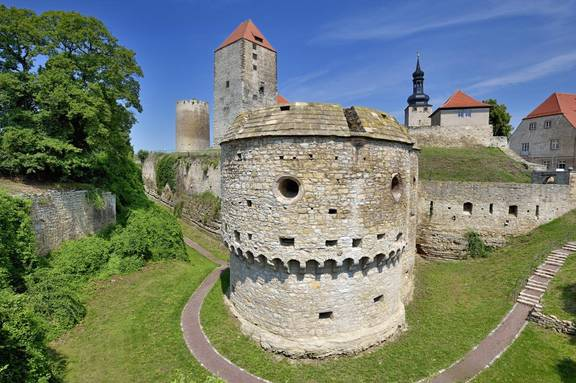 Burg Querfurt Kanonenbastion 01