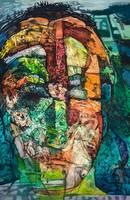 Ulrike Kirchner, Ohne Titel, Acryl auf Leinwand ©Ulrike Kirchner